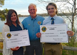 2019 Scholarship Winners: Margaret Wohlleber and Christopher Stowers