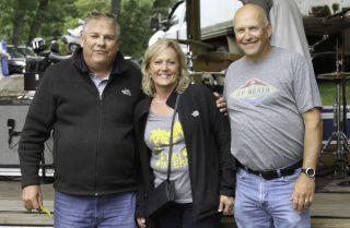 Dick,Teresa and Lynn. Raffle 2019