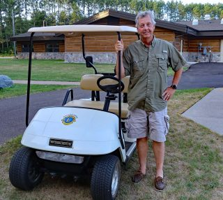 Golf Cart Donation John Hegel