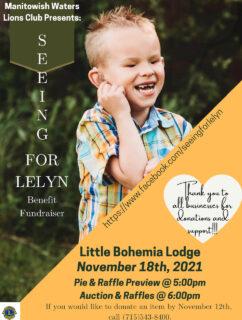 Lelyn Schmidt Pie Auction Fundraiser @ Little Bohemia Lodge